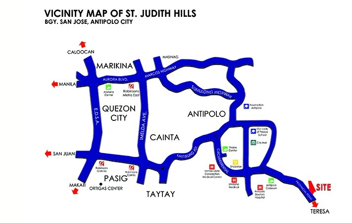 St Judith Hills Executive Village House And Lot Teresa Highway