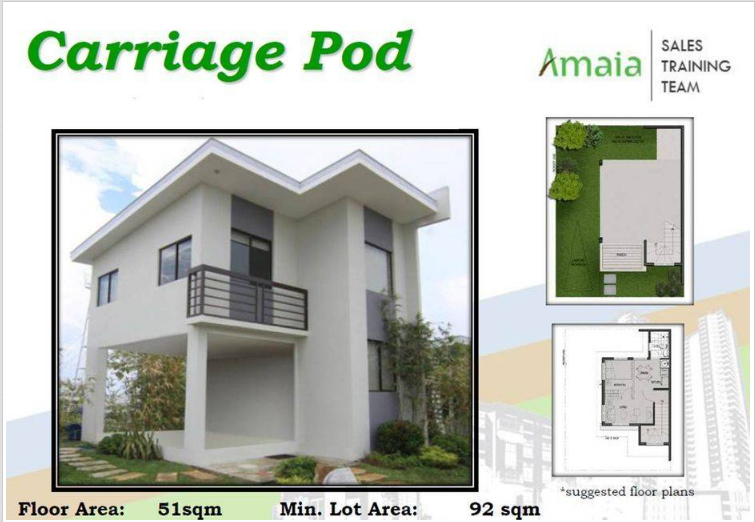 Amaia Scapes Twin Home Floor Plan