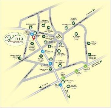 Vinia residences by filinvest condominium brgy philam for The grand terrace quezon city