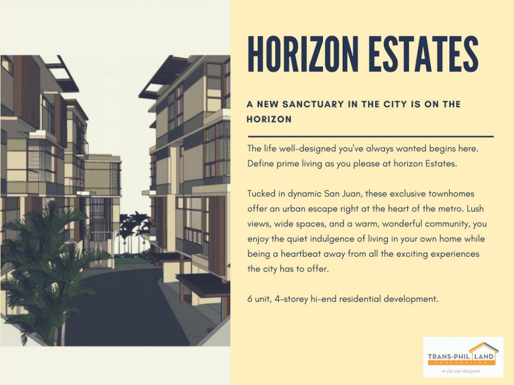 Horizon Estates Townhouse No 634 Pinaglabanan Street