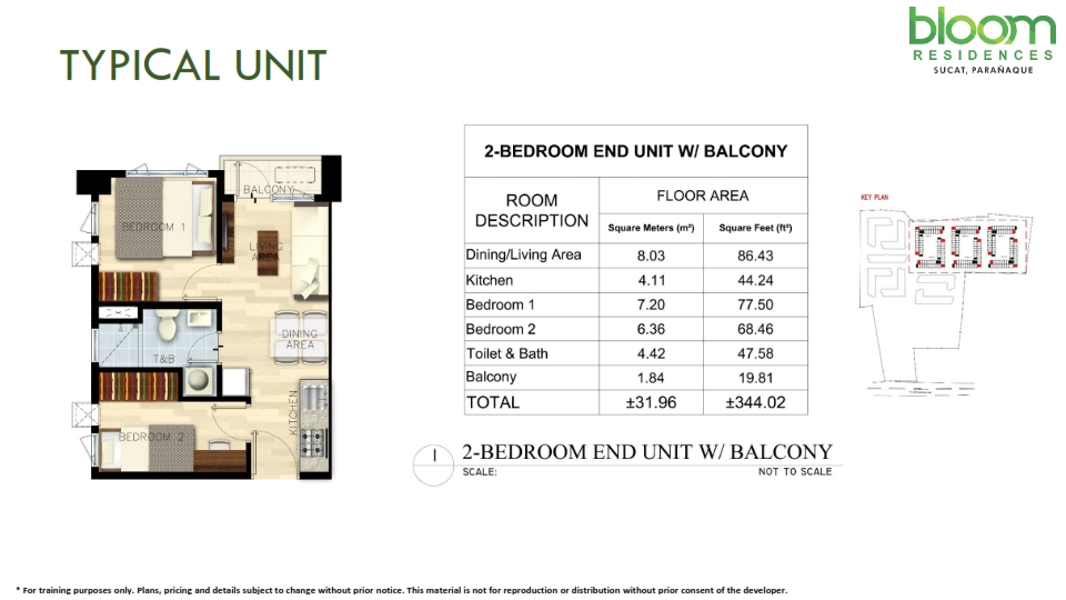 Bloom Residences Condominium San Antonio Para 241 Aque