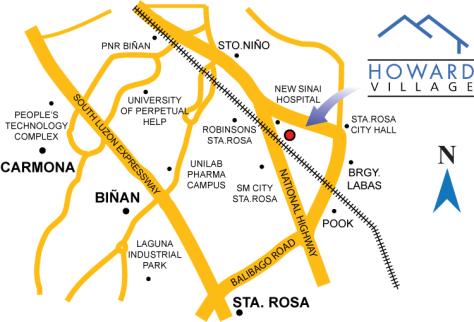 Howard Village House And Lot Manila S Rd Santa Rosa