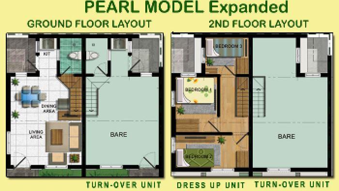 Pearl Residences Townhouse Brgy Capipisa Tanza Cavite
