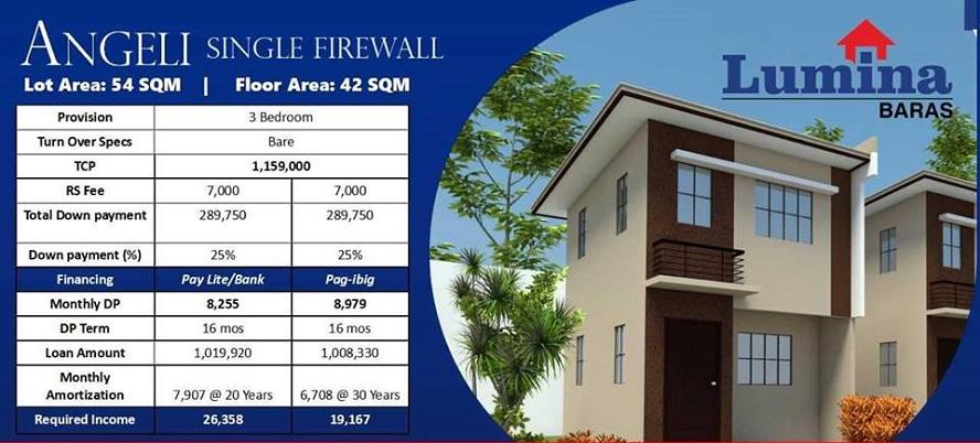 Lumina Baras House And Lot Brgy Concepcion Baras Rizal