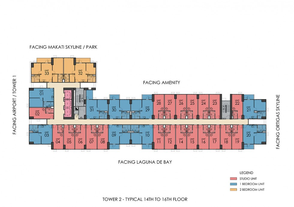 1 Michael Power Place Floor Plan