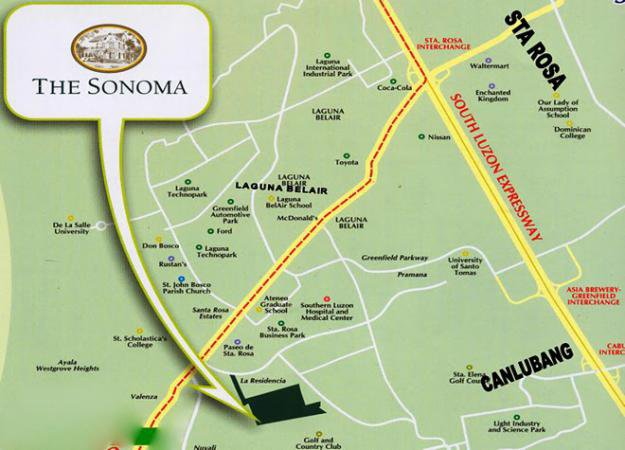 The Sonoma House And Lot Canlubang Sta Rosa Laguna Philippines Empire East Land Holdings