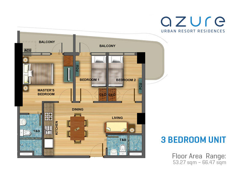 Azure Urban Resort Residences Condominium Slex West
