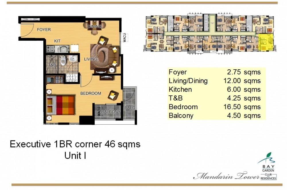 units and floor plans - Garden By The Bay Floor Plan