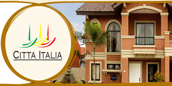 Citta Italia House and Lot - Bacoor City Cavite Crown Asia