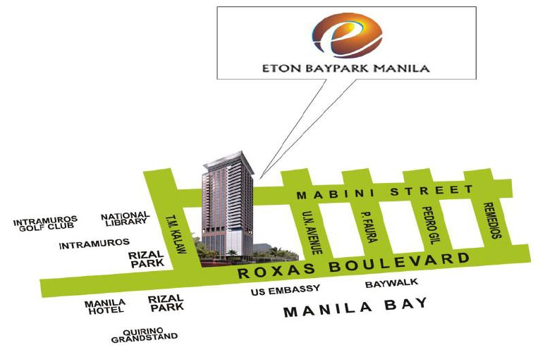 Location And Vicinity Map There Is As Much Luxury As There Is Heritage To Breathe In When You Live In Manila Where Roxas Boulevard And Kalaw Street Meet