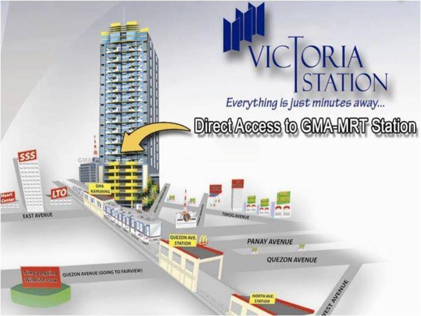 Victoria Station 1 Condominium 793 Edsa Kamuning