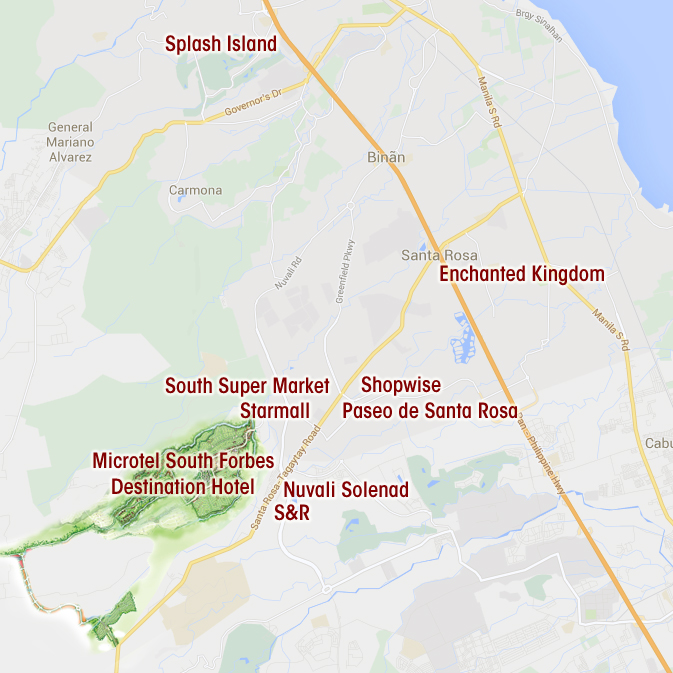 South Forbes Villas House And Lot Sta Rosa Silang And